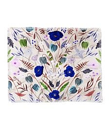 Iveta Abolina Poppy Meadow Iii Woven Throw