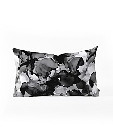 Cayenablanca Black And White Dreams Oblong Throw Pillow