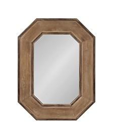 Kate and Laurel Hadrian Wood Octagon Wall Mirror