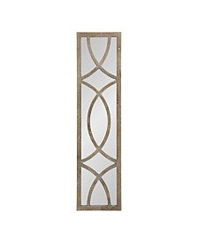 Kate and Laurel Tolland Wood Panel Wall Mirror