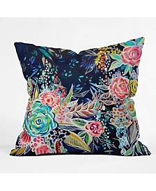 Stephanie Corfee Night Bloomers Throw Pillow