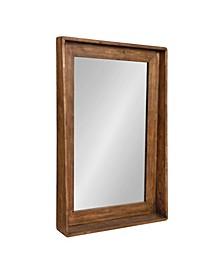 Basking Wall Mirror with Shelf