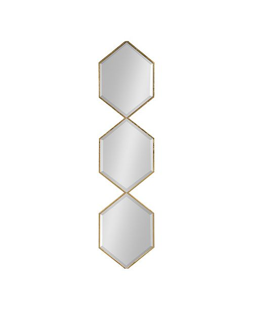 Kate and Laurel Roycen Metal Accent Wall Mirror