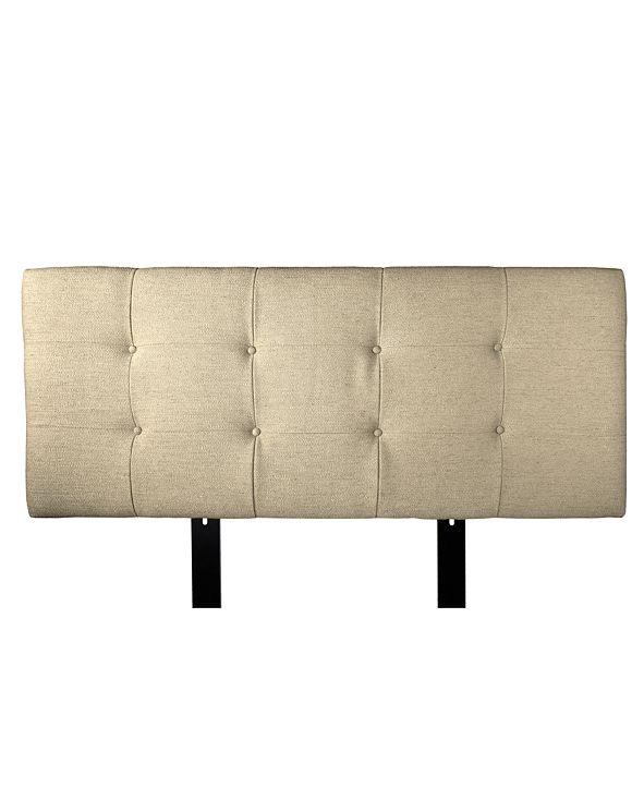 MJL Furniture Designs Ali Button Tufted Upholstered Queen Headboard