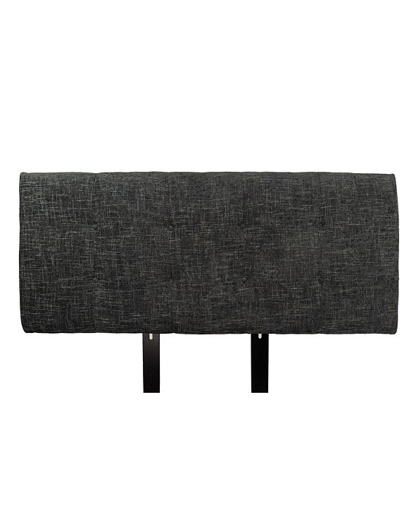 MJL Furniture Designs Ali Button Tufted Upholstered Eastern King Headboard