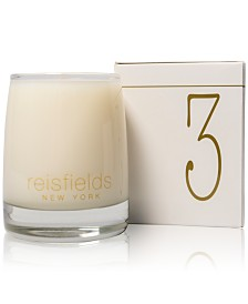 Reisfields NYC Hand-Poured Signature Collection Luxury Candle No. 3, 10-oz.