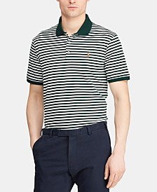 Polo Ralph Lauren Men's Classic Fit Interlock Striped Polo