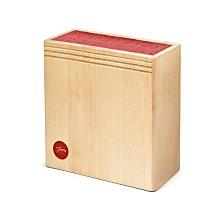 CLOSEOUT! Fiesta Wood Scarlet Bristle Block