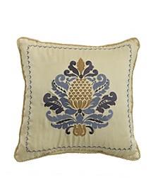 "Nadia 16"" x 16"" Fashion Decorative Pillow"