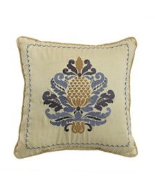 "Croscill Nadia 16"" x 16"" Fashion Decorative Pillow"