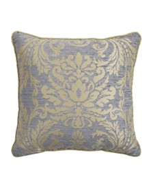 "Croscill Nadia 18"" x 18"" Square Decorative Pillow"