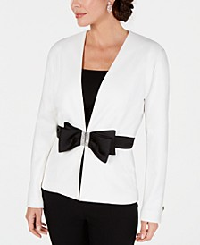 Embellished Bow Jacket, Created for Macy's