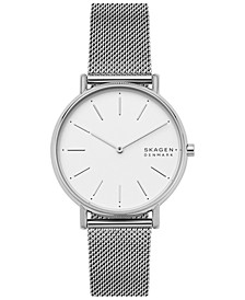 Women's Signatur Stainless Steel Mesh Bracelet Watch 38mm