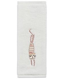 "Creative Bath Towels, Animal Crackers 13"" Square Washcloth"