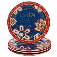 Certified International La Vida 4-Pc. Dinner Plate