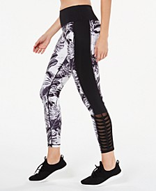 Tropic Shadow Printed Leggings, Created for Macy's