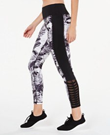 Ideology Tropic Shadow Printed Leggings, Created for Macy's
