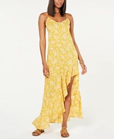 185f965eb Billabong Juniors' Ruffled High-Low Maxi Dress