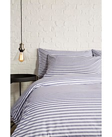 Christy Pyjama Stripe King Duvet Set