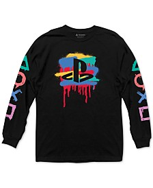 PlayStation Graffiti Men's Graphic T-Shirt