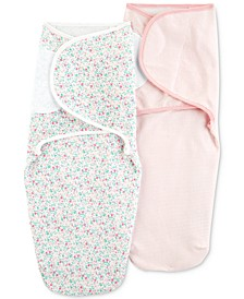 Baby Girls 2-Pk. Cotton Swaddle Blankets