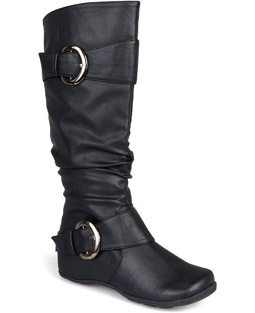 Journee Collection Women's Extra Wide Calf Paris Boot