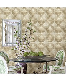"Brewster Home Fashions Alchemy Geometric Wallpaper - 396"" x 20.5"" x 0.025"""