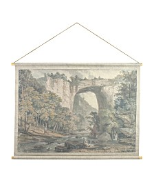 "Brewster Home Fashions Natural Bridge Hanging Linen Tapestry - 51"" x 49.5"" x 0.125"""