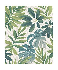 "Nocturnum Leaf Wallpaper - 396"" x 20.5"" x 0.025"""
