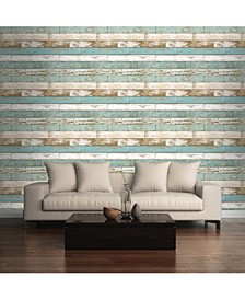 "Scrap Wood Wallpaper - 396"" x 20.5"" x 0.025"""