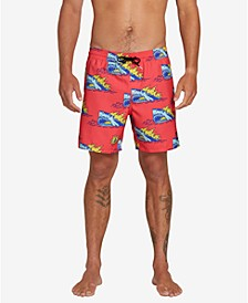 "Men's Duhh Dunt 17"" Swim Trunks"