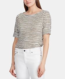 Lauren Ralph Lauren Striped Lightweight Top