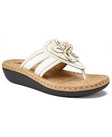 Carnation Comfort Thong Sandals