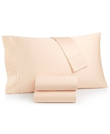 Classic Egyptian Cotton Set of Two King Pillowcases, Created for Macy's