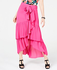 Thalia Sodi Tiered Ruffled Skirt, Created for Macy's