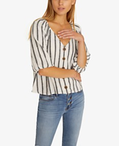 e980d95db8 3/4 Sleeve Womens Tops - Macy's
