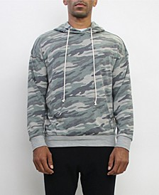 Men's Ultra Soft Lightweight Camo Long-Sleeve Hoodie