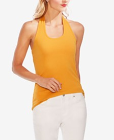 Vince Camuto Ribbed Halter Top