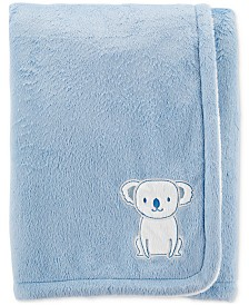 Carter's Baby Boys Plush Koala Blanket