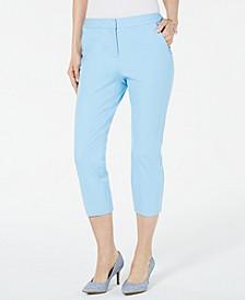 Invisible-Zip Capri Pants, Created for Macy's