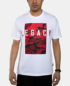 Sean John Men's Legacy Camo Graphic T-Shirt