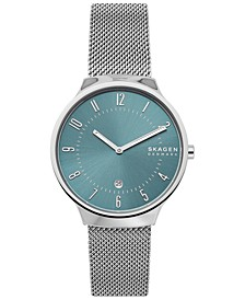 Men's Grenen Stainless Steel Mesh Bracelet Watch 38mm