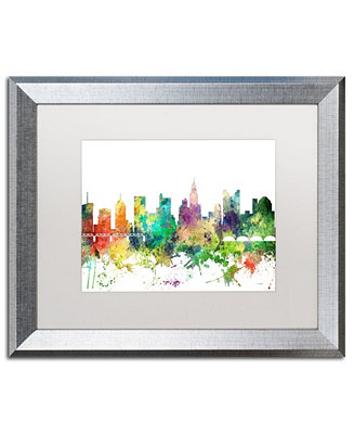 Trademark Global Marlene Watson Columbus Ohio Skyline Sp