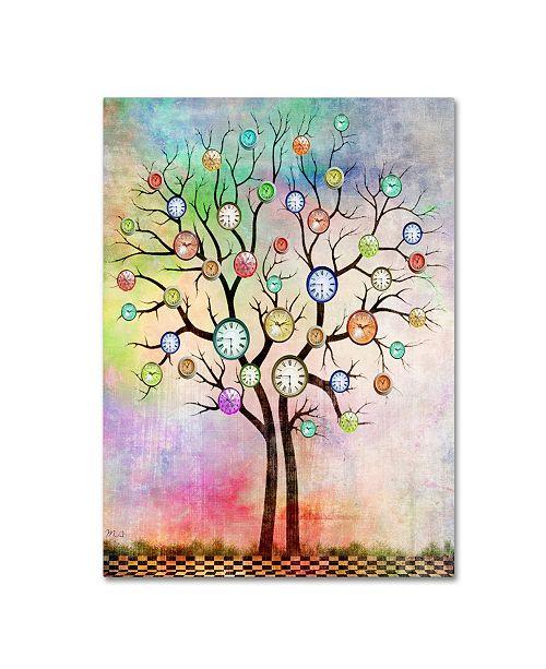 "Trademark Global Mark Ashkenazi 'Tree 3' Canvas Art - 14"" x 19"""