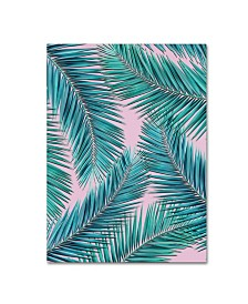 "Mark Ashkenazi 'Palm-Tree' Canvas Art - 14"" x 19"""
