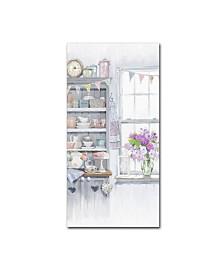 """The Macneil Studio 'Kitchen Dresser' Canvas Art - 12"""" x 24"""""""