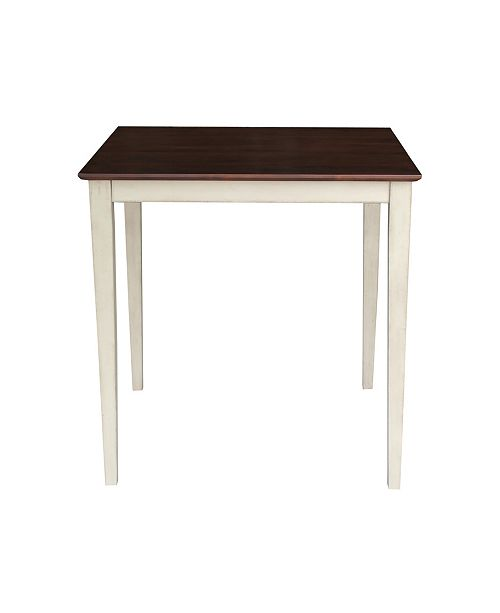 WHITEWOOD INDUSTRIES/INTNL CONCEPTS International Concepts Solid Wood Top Table