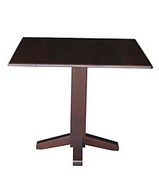 "International Concepts 36"" Square Dual Drop Leaf Dining Table"