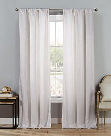 "Steena 27"" x 84"" Velvet Blackout Curtain Set"