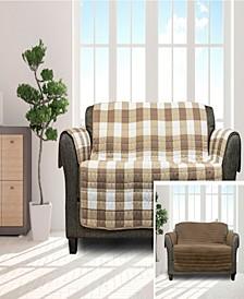 """Alba 114"""" x 75"""" Reversible Water-resistant  Sofa Cover"""
